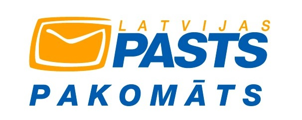 Latvijas Pasts (pakomāts) logo